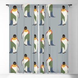 Emperor Penguin Blackout Curtain