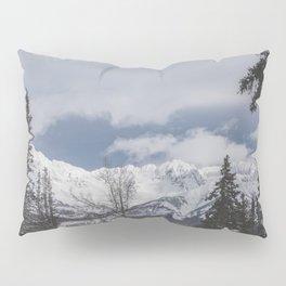 Winter Mountainscape Pillow Sham