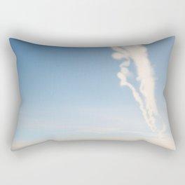 Chem Trails Rectangular Pillow