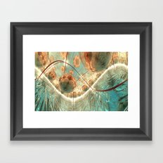The impossible sea Framed Art Print