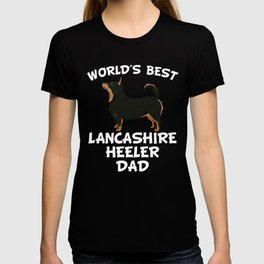 World's Best Lancashire Heeler Dad T-shirt