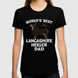 World's Best Lancashire Heeler Dad T-shirt