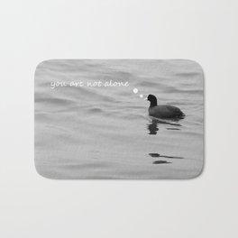 lonely bird Bath Mat