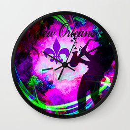 NEW ORLEANS Wall Clock