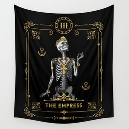 The Empress III Tarot Card Wall Tapestry