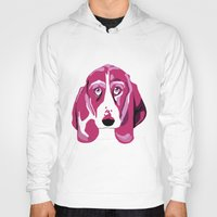 the hound Hoodies featuring Hound Dog by andiroses