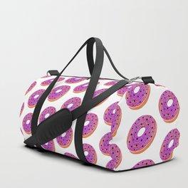 Black Star Donut Duffle Bag