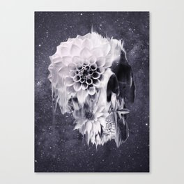 Decay Skull Canvas Print