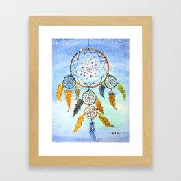 DREAM CATCHER - Original Art by HSIN LIN / H.Lin the Artist / Helloinnerpeace Framed Art Print