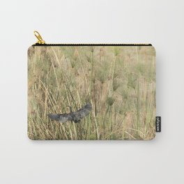 Reed Cormorant Flying Into the Papyrus Carry-All Pouch