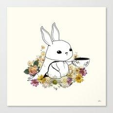 I Am Latte Canvas Print