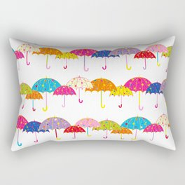 Colorful Day Rectangular Pillow