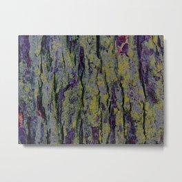 Mossy Bark Metal Print