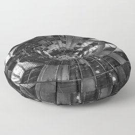 Derelict Airship of Repetition Floor Pillow