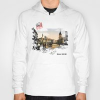 poland Hoodies featuring Poland, Warsaw 1890-1900 by viva la revolucion