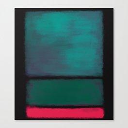 Rothko Inspired #8 Canvas Print