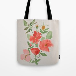 Fall Knockout Roses Tote Bag
