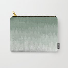 Green Ombré Forest Carry-All Pouch