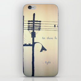 Let there be light... iPhone Skin