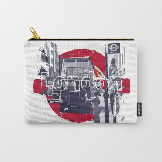 London 1930s Carry-All Pouch