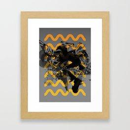 Shaped, #9 Framed Art Print