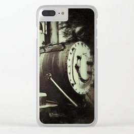 Caboose Vintage Clear iPhone Case