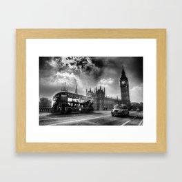 Westminster Bridge London  Framed Art Print