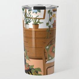 plant lady is the new cat lady Travel Mug
