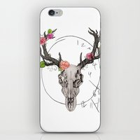 hannibal iPhone & iPod Skins featuring Hannibal by Ashley Glass