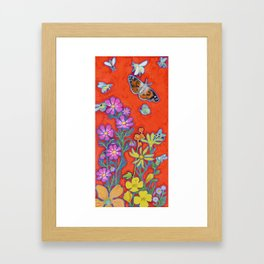 Love Pollinators Framed Art Print