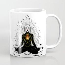 Meditation and Internal fire Coffee Mug