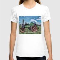 jem T-shirts featuring Jem General Purpose Engine by Avril Harris