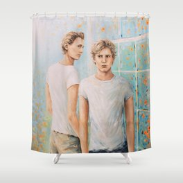 Love at first sight Shower Curtain