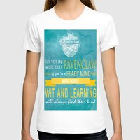 ravenclaw T-shirts featuring Wise Old Ravenclaw by MilkP