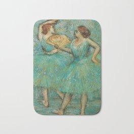 Edgar Degas - Two Dancers, 1905 Bath Mat