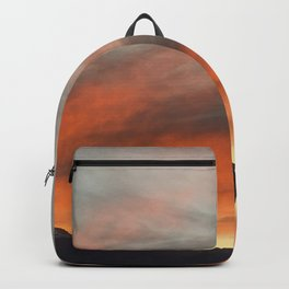 Sky of fire over the Pyrenees Backpack