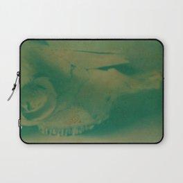 Cow Skull Polaroid Laptop Sleeve