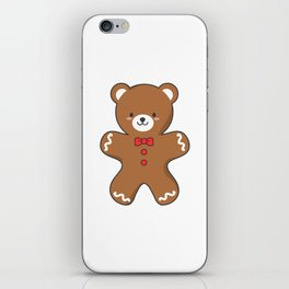 Ginger-Bear Cookie iPhone Skin