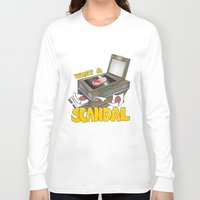 scandal Long Sleeve T-shirts featuring Scandal by MinaLotToMe
