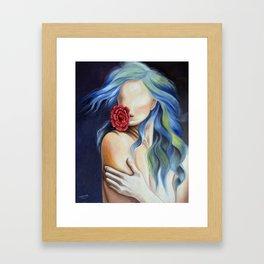Female fatal Framed Art Print