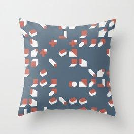 Abstract Geometric Artwork 77 Throw Pillow