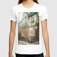 british T-shirts featuring British Pub by Christine Workman