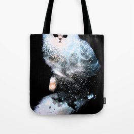Celestial Cats - The Persian and the Ashes of the First Stars Tote Bag