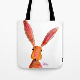 Happy Hare ' LoLLiPoP ' by Shirley MacArthur Tote Bag