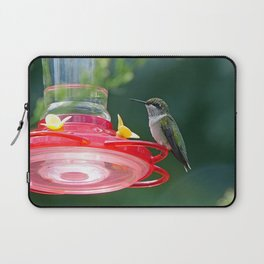 Perched Hummingbird Laptop Sleeve
