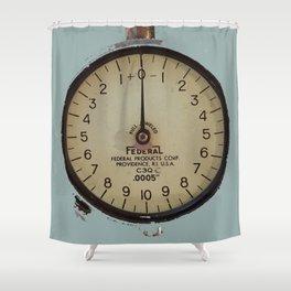 Gauge, Industrial, Steampunk, Tool Shower Curtain