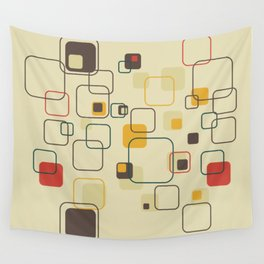 Mid-Century Modern Hep Cat (gold) Wall Tapestry