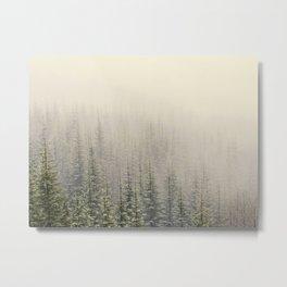 Mountain Haze Metal Print