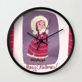 Christmas! Wall Clock
