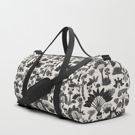 Exotic Garden - Grey Duffle Bag